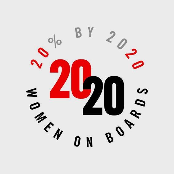 Women on Boards 2020 logo
